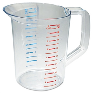 Bouncer Clear Measuring Cup - 2 Qt.