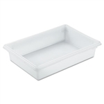 White Food and Tote Box - 8.5 Gal.
