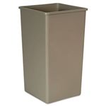 Untouchable Beige Square Container - 50 Gal.