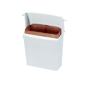 Waxed Napkin Receptacle Brown Liner