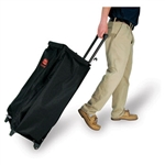 Mobile Black Fabric Bag - 11 in. x 18.5 in. x 35 in.