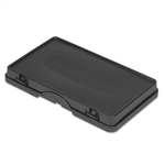 Storage and Trash Compartment Black Cover - 17.6 in.