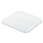 White Square Lid for 2, 4, 6 and 8 Qt. SpaceSaver Containers