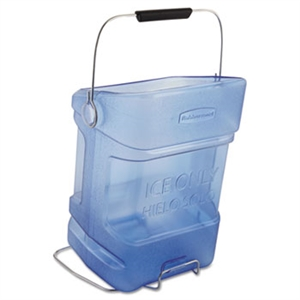 Transparent Blue Ice Tote With Bin Hook Adapter