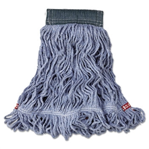 Web Foot Cotton Synthetic Medium Blue Wet Mop