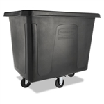 Rubbermaid Black Cube Truck - 500 lb. for Trash Collection