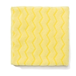 Hygen Microfiber Yellow Bathroom Cloth - 16 in. x 16 in.