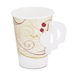 Symphony Paper Hot Cup with Handle - 8 oz.