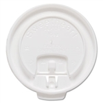 Lift Back and Lock Tab White Lids for 10 oz. Trophy Cups