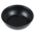 Black Plastic Souffle Portion Cups - 5.5 oz.