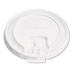 Liftback and Lock Tab White Lid for 10 oz. Cups