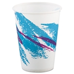 Jazz Waxed Rolled Rim Paper Cold Cup - 9 oz.