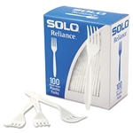 Reliance Medium Weight Polystyrene Boxed White Fork