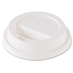 Traveler Dome White Lid for 8 oz. Hot Cups