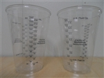 Dart Container Medical and Dental Graduated Clear Cups 10 oz