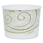 Symphony Single Poly Paper Container - 16 oz.