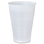 Galaxy Polystyrene Plastic Translucent Cold Cup - 16 oz.