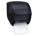Integra Translucent Black Pearl Lever Towel Roll Dispensers