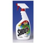 Shout Laundry Stain Treatments, 22 oz Bottle, Opaque White, Liquid, Scent: Lemon