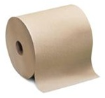 Tork Universal Roll Towels, 1 Ply, 7.75in.Wx800ft.L, 7.8in.Dia, Natural, Hardwound Roll