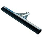 Unger Water Wand Heavy-Duty Floor Squeegees, 30in. L, Black, Silver, Twin Blades