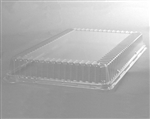 CaterLine Rectangle Catering Tray Dome Lid Clear - 18 in. x 12 in.