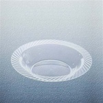 Clear Opulence 14 oz. Plastic Bowl