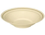 Masterpiece Ivory with Printed Gold Line Bowl - 10 Oz.