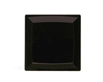 Milan Square Salad Plate Black - 6.75 in.