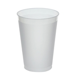 Frost-Flex Frosted Natural Tumbler Plastic - 12 Oz.