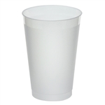 Frost-Flex Frosted Natural Tumbler Plastic - 14 Oz.