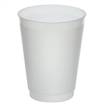 Frost-Flex Frosted Natural Tumbler Plastic - 16 Oz.