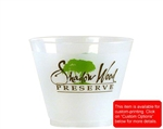 Frost-Flex Squat Tumbler Frosted Natural - 9 Oz.