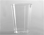 Polystyrene Smoothwall Tall Tumbler Clear - 8 Oz.