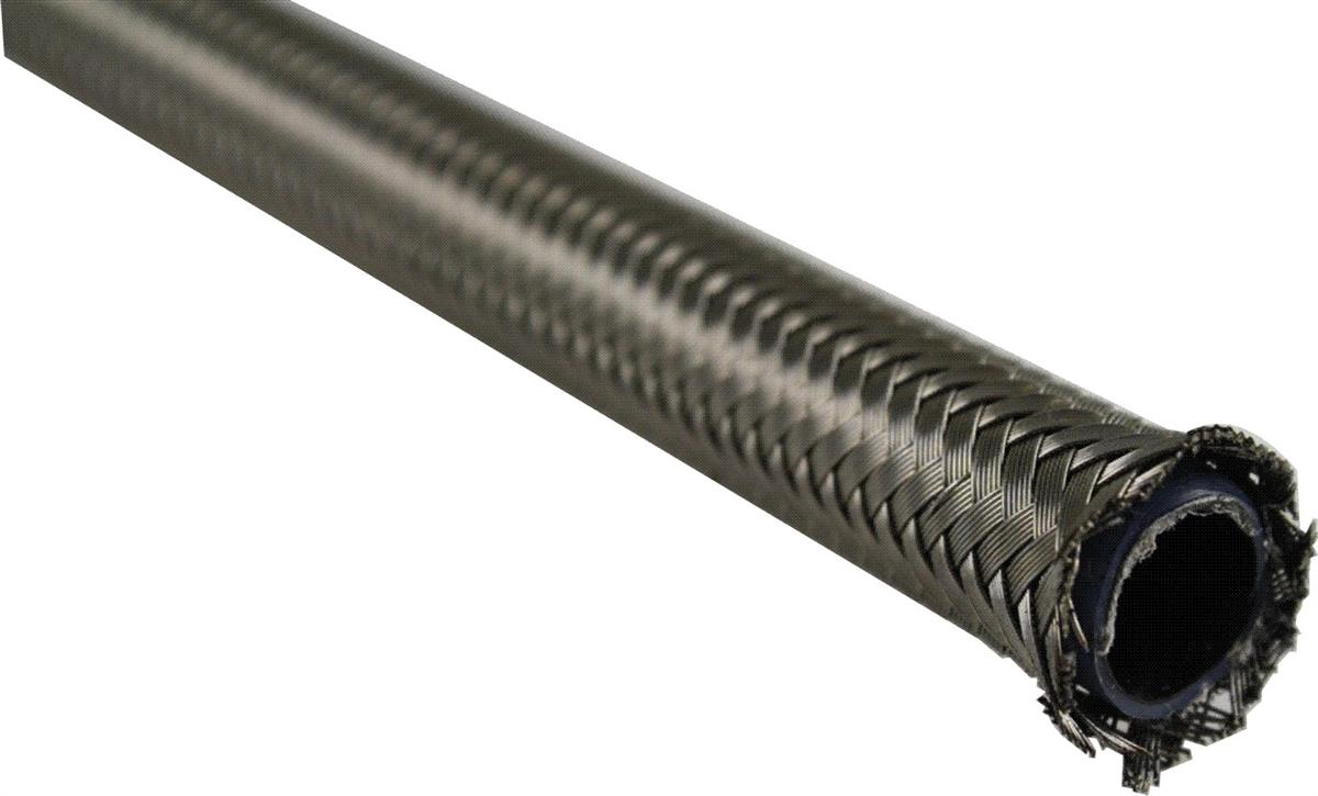 sc 1 st  JDA Enterprises & JDA -6 Stainless Steel Braided PTFE hose Conductive Core (per foot)