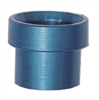 -10 aluminum tube sleeve - blue