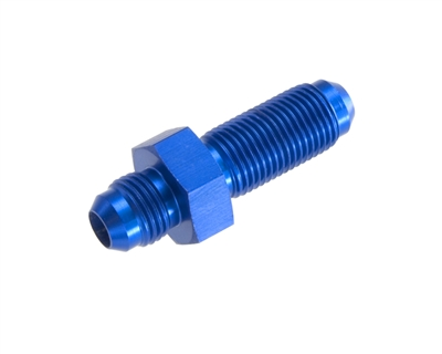 -03 straight male AN/JIC bulkhead - blue