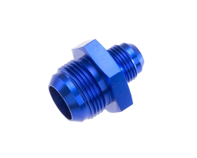 -08 male to -04 male AN/JIC reducer - blue