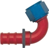 -04 120* Deg Push-On Hose End - Aluminum