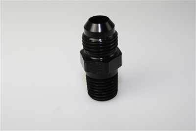 "-03 Flare to 1/8"" NPT - Aluminum - Black Anodized"