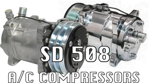 Sanden 508 A/C Compressors 134a