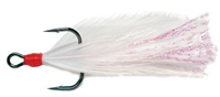 Gamakatsu Feathered Treble White Red 4