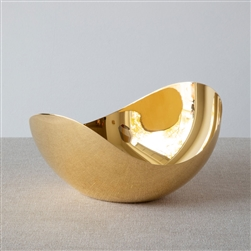 IIV Gold Plated Bloom Bowl