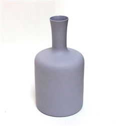 bisque porcelain tulip vase in lilac