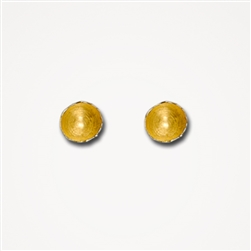 H Fragment Gold Small Earrings