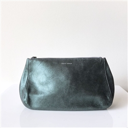 leather pouch evergreen smoke