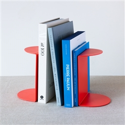 Red Reference Bookends