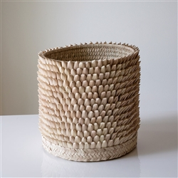 Porcupine Hand Woven Basket
