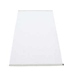 Pappelina plastic outdoor indoor floor mat runner white