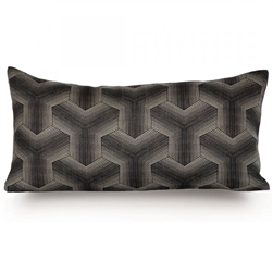 Darker linen pillow